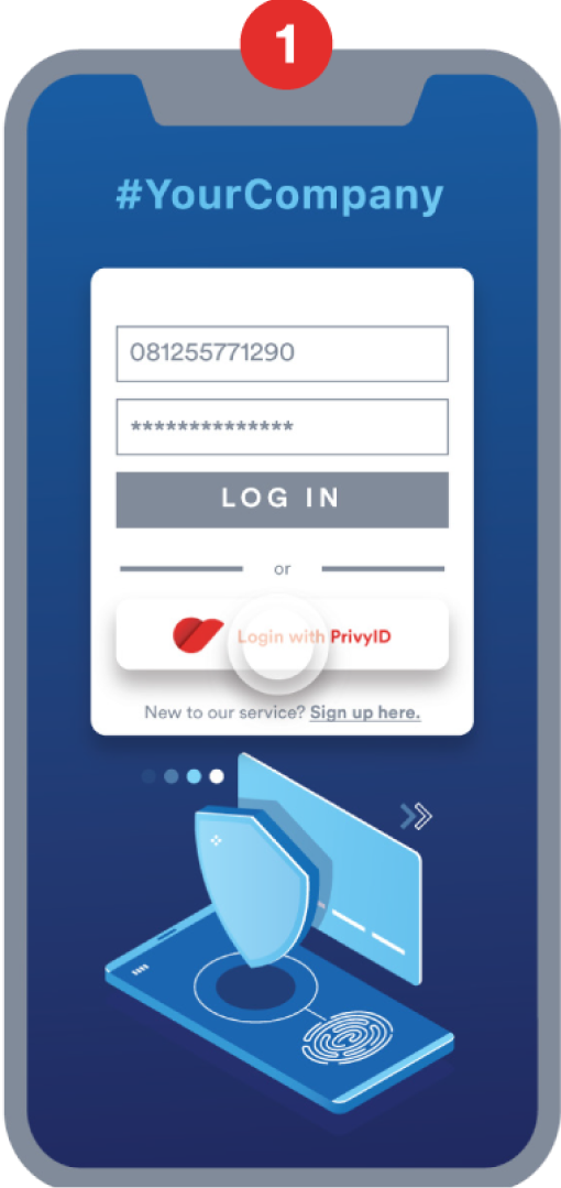 PrivyID PrivyPass How to Work: Login with PrivyID