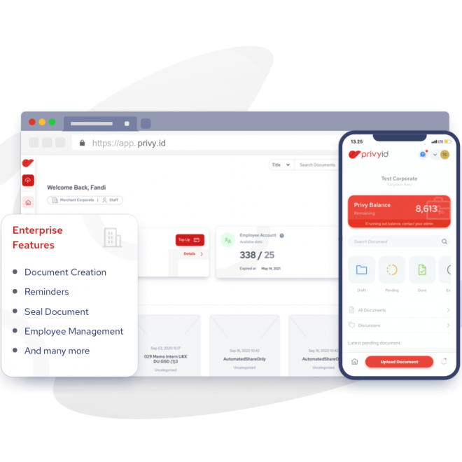 Learn more about PrivyID End to End Service for Business: Enterprise Suite