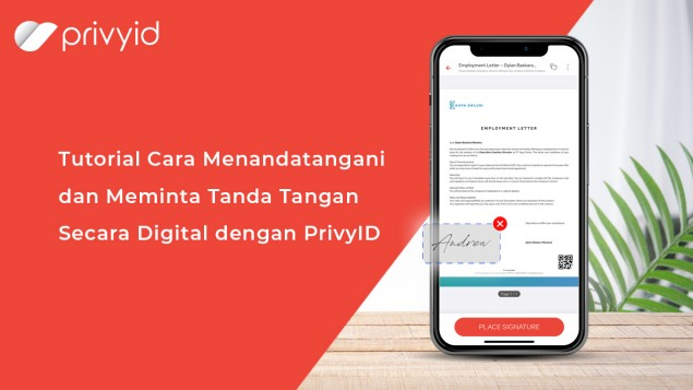 Watch video about how to sign a document and request a sign in PrivyID